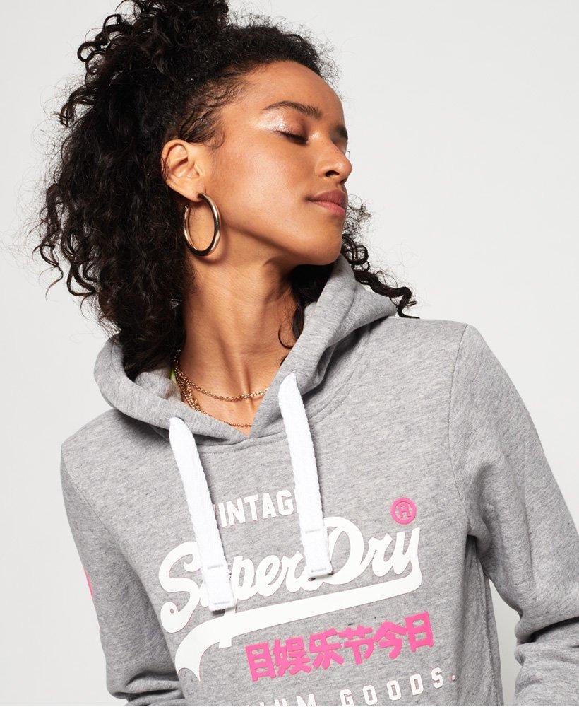 Superdry Sweat à capuche Premium Goods Duo en coton