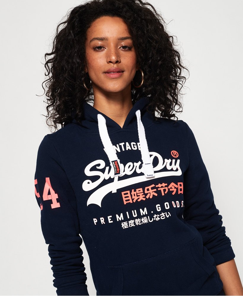 Superdry Premium Goods Duo Hoodie Damen Hoodies