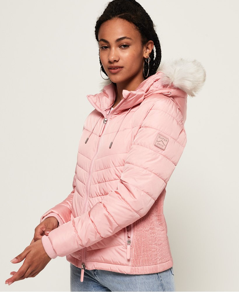 Superdry Luxe Fuji jas Jacks en jassen voor Dames