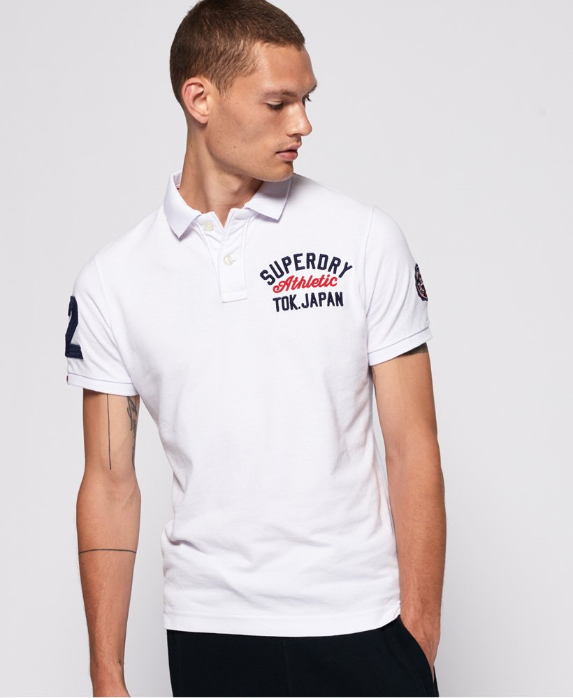 Superdry Organic Cotton Superstate Classic Polo Shirt  thumbnail 1
