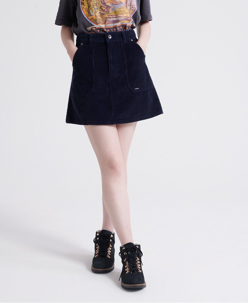 Superdry Cord A-Line Skirt  thumbnail 1