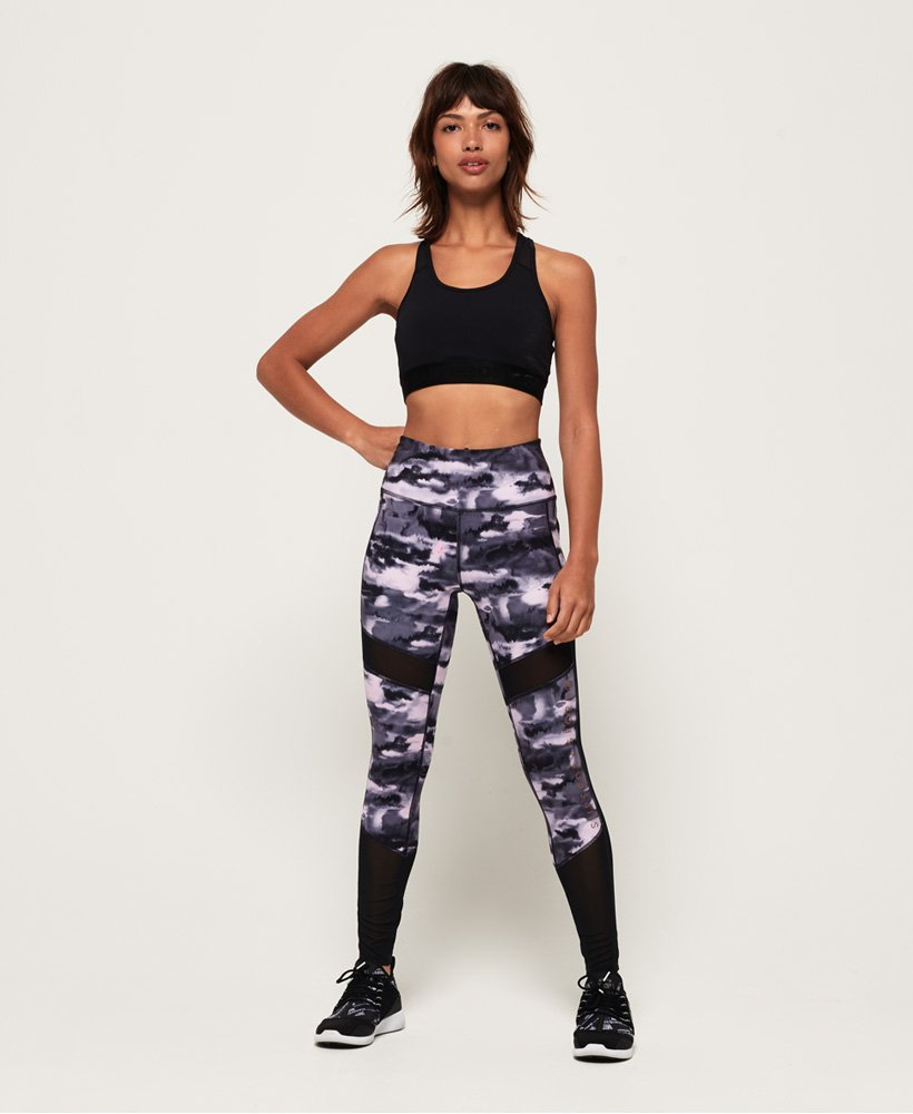 Superdry Active Studio Mesh Leggings thumbnail 1