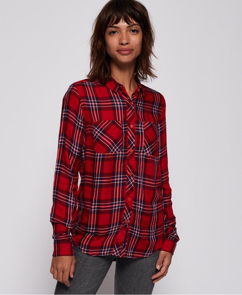 Superdry Buffalo Check skjorte Dame Skjorter
