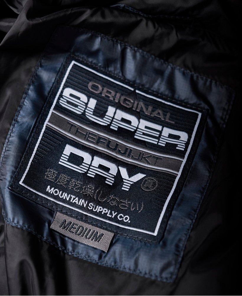 Superdry Fuji Jacke mit diagonalem Steppmuster Herren Sale