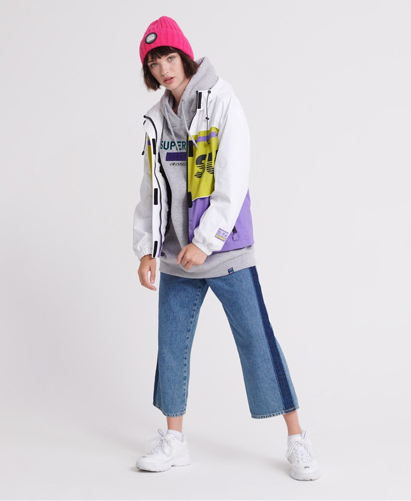 Superdry Colour Block Track Jacket Giacca Donna