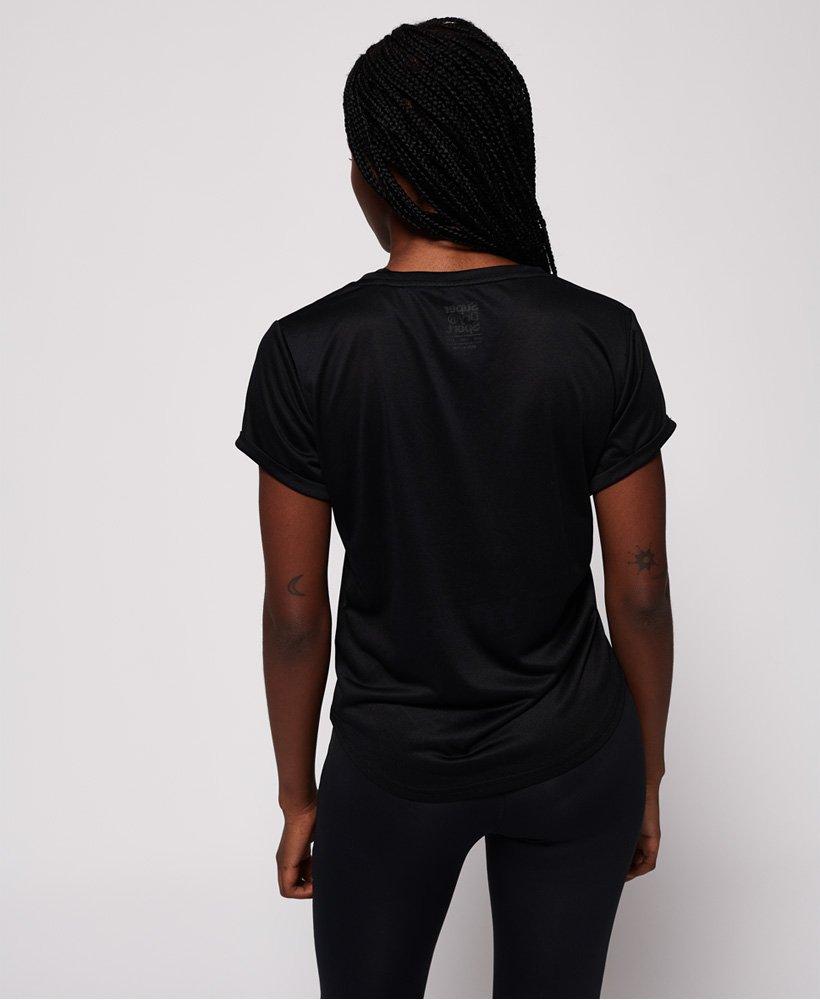 Superdry Active T skjorte med løs passform Dame T skjorter