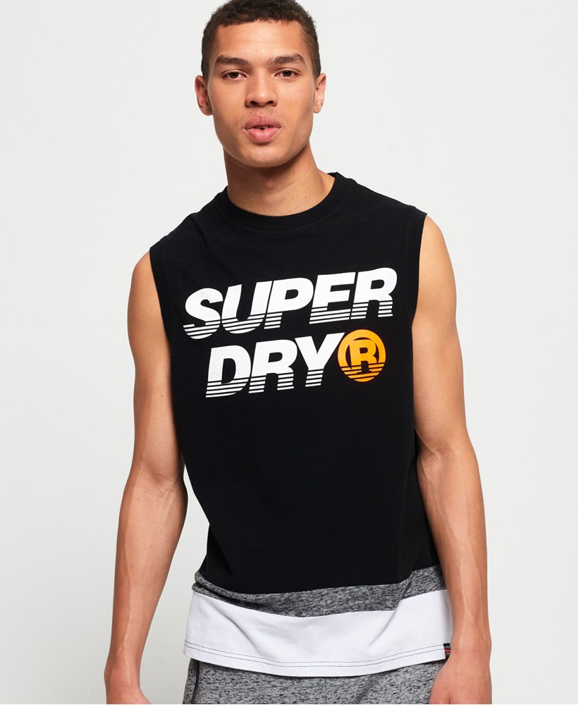 Superdry House Cut And Sew Tank Top thumbnail 1