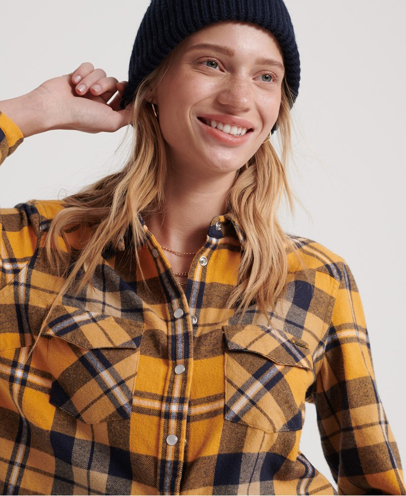 Superdry Bailey Western Check Shirt 0