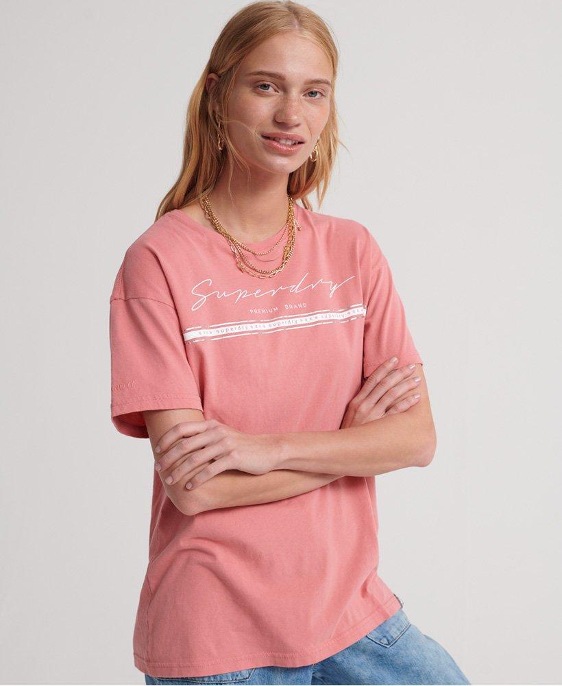 Superdry Portland T shirt i økologisk bomuld med