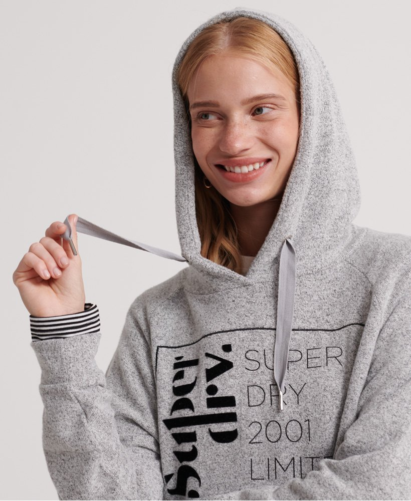 Superdry Supersoft Oversized Graphic Hoodie
