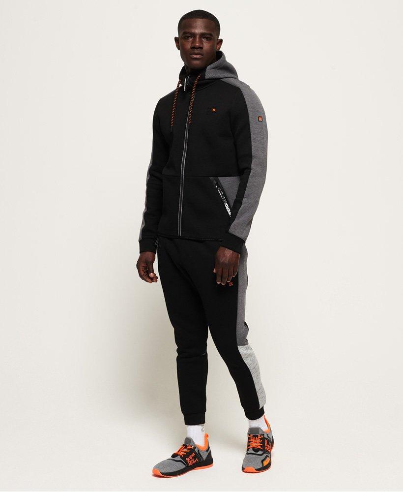 Superdry Sweat à capuche zippé Gym Tech Colour Block