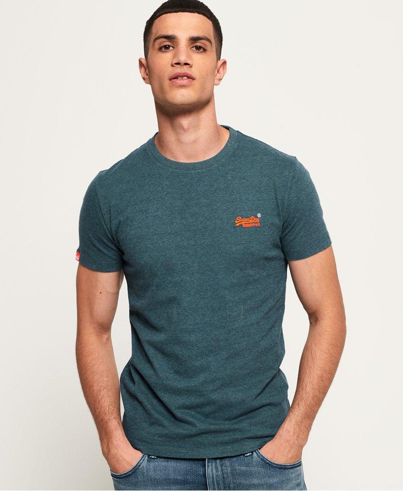 Superdry T shirt brodé Vintage Orange Label T shirts