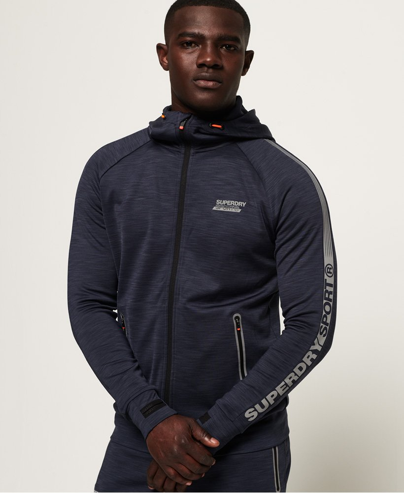 Superdry Active Lite Training Zip Hoodie thumbnail 1