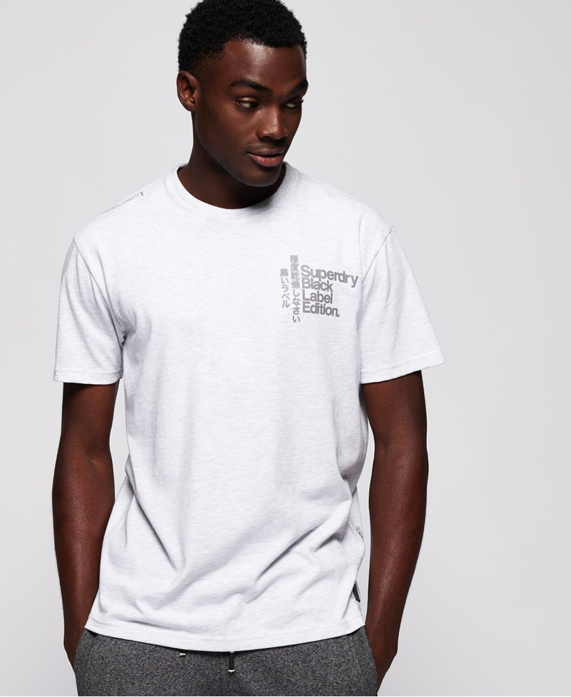 Superdry T-shirt Black Label Edition  thumbnail 1
