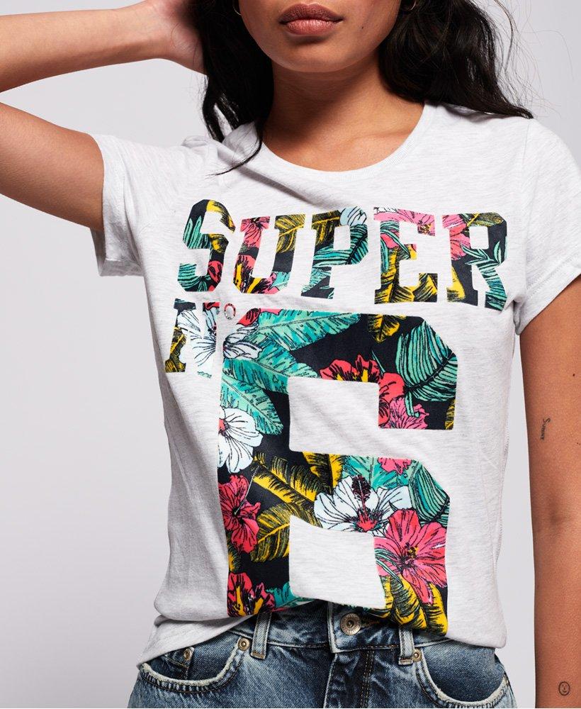 Superdry T shirt molletonné Super No. 6 Entry T shirts