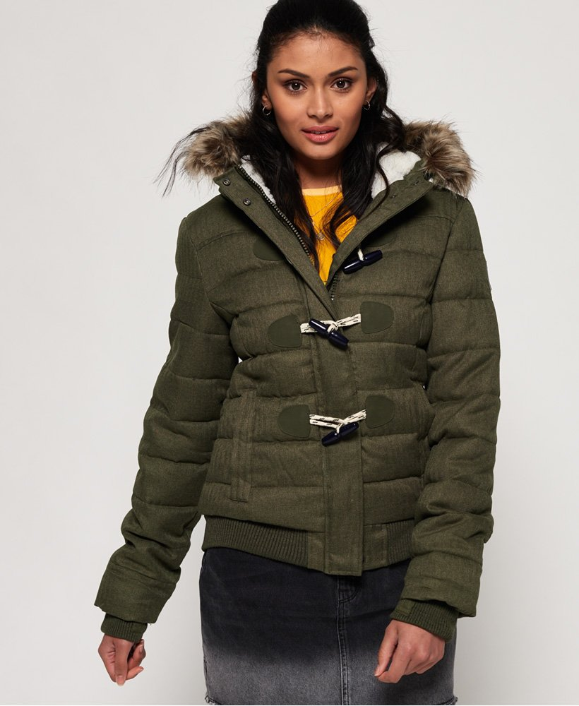 Superdry Marl Toggle Puffle