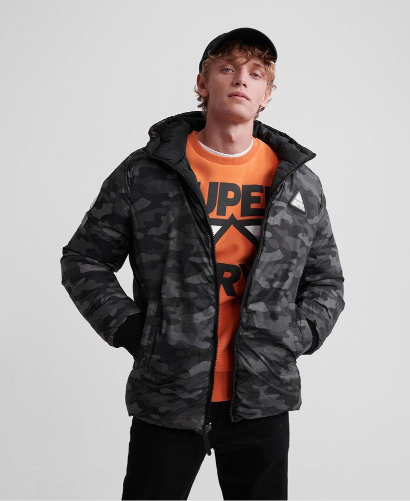 Superdry Mens Printed Reversible Jacket