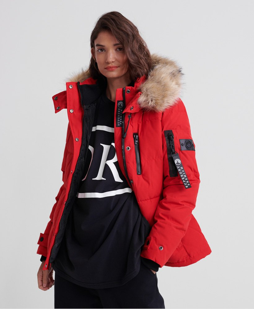 Superdry Premium New Rescue Daunenjacke Damen Jacken & Mäntel