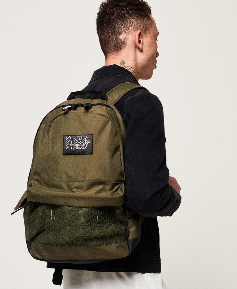 Superdry Mens Rucksack Backpack /'Neoprene Emboss Panel Montana/'