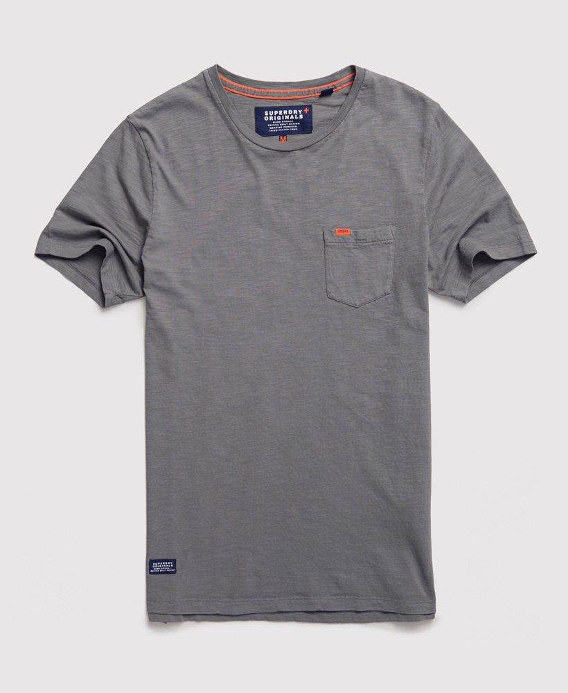 Superdry Dry Originals T shirt med lomme Herrer T shirts