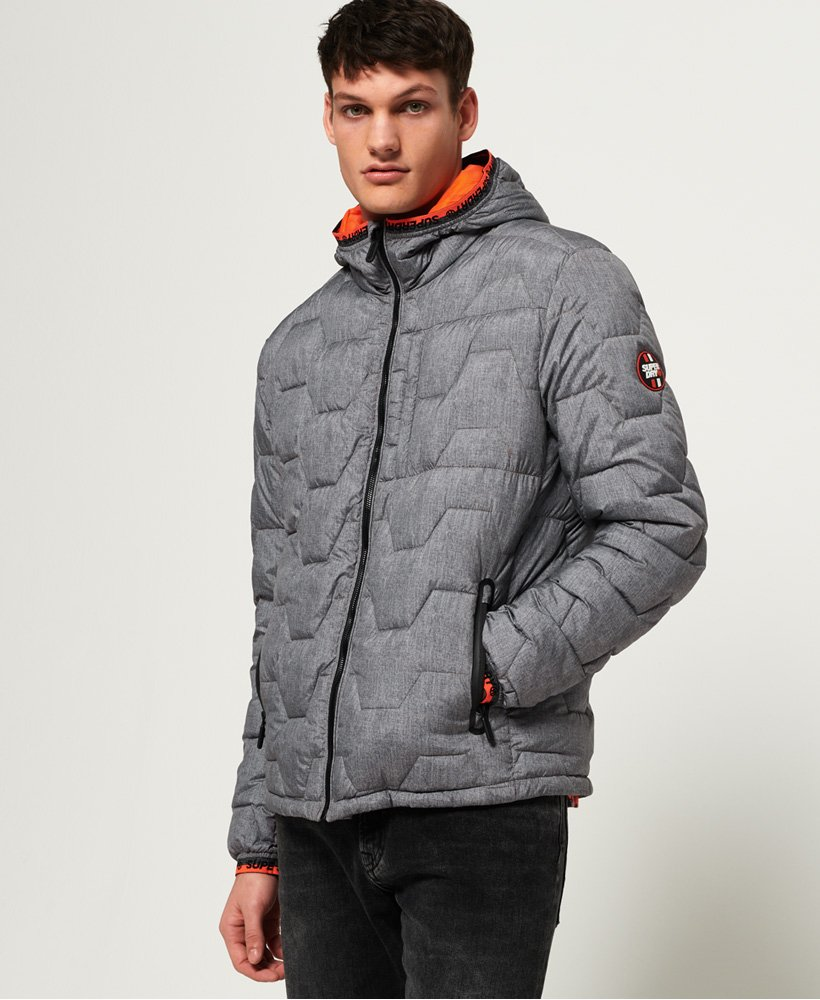 Superdry Quilted Hex jakke  thumbnail 1