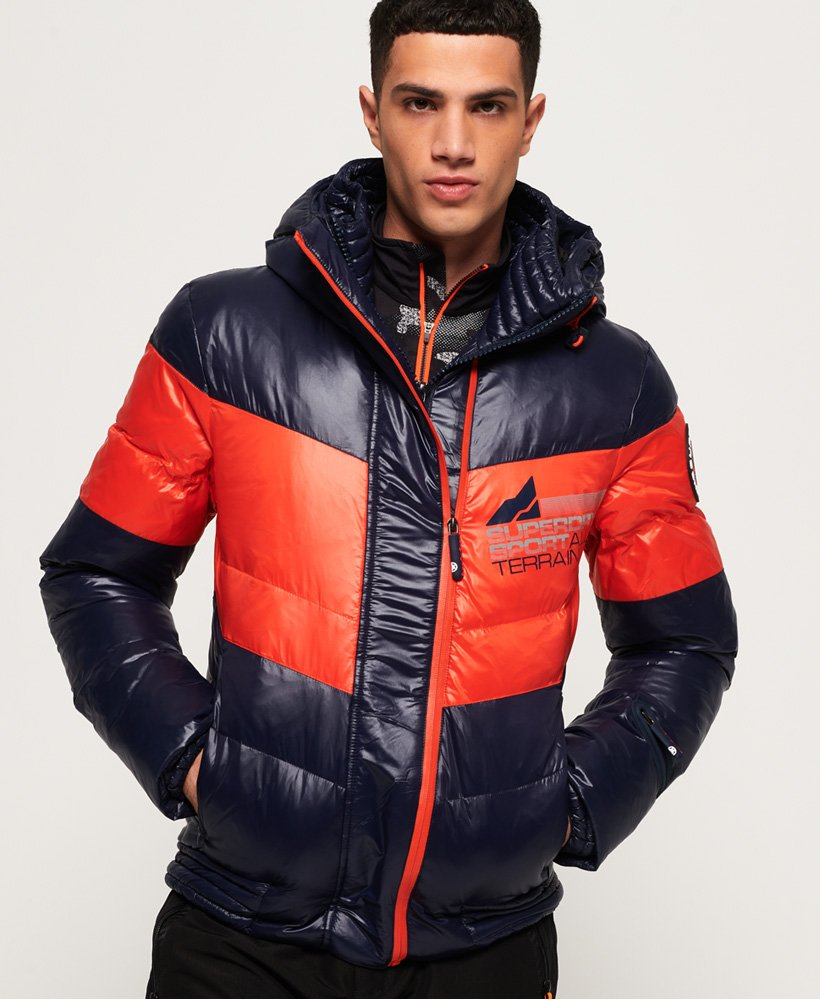 Superdry Snow Terrain Down Puffer Jacket thumbnail 1