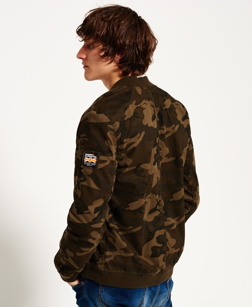 Comfortable Superdry Camo Rookie Military Alpine Mens Jacket