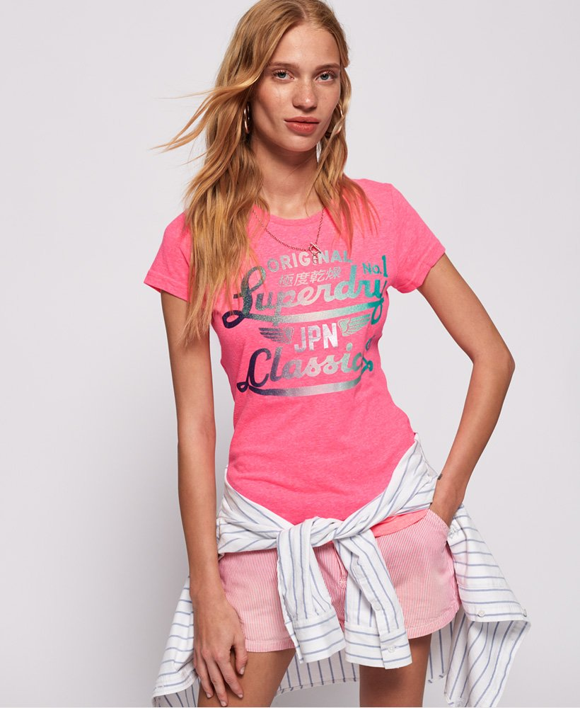 Superdry Womens Icarus Duo T-shirt