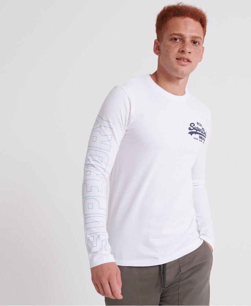 Herren T Shirt Logo Linear