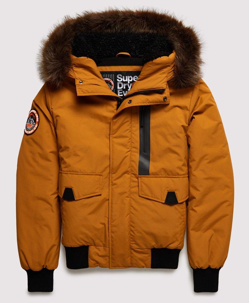 SUPERDRY Everest Bomberjacke Herren Winterjacke Gelb