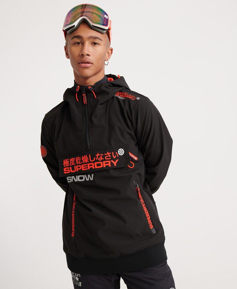 Superdry Snow Tech Half Zip Hooded Jacket