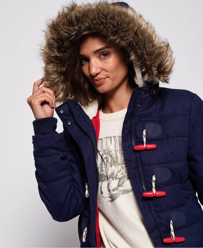 Coats Superdry Jacketsamp; Toggle Jacket Women's Puffle Marl 1TJcl5uFK3