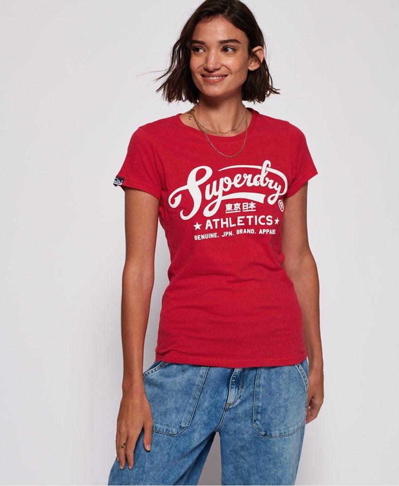 Superdry Athletic Stars T shirt Women's T Shirts
