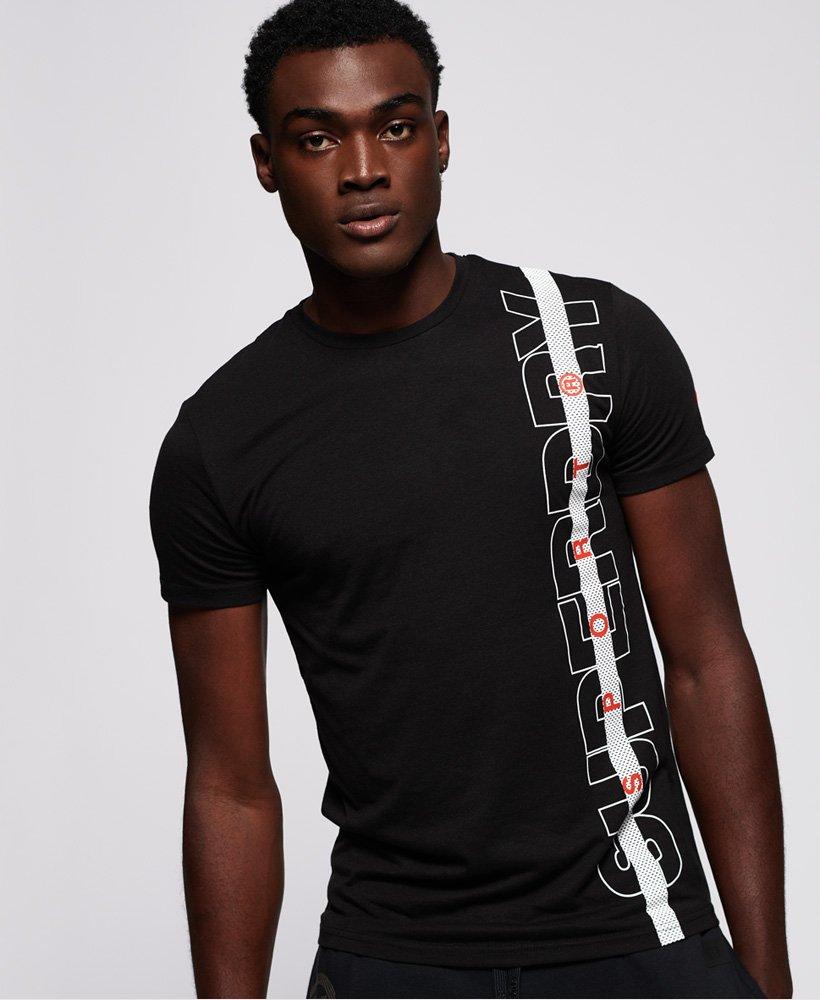Superdry Core T-Shirt mit Streifenband thumbnail 1