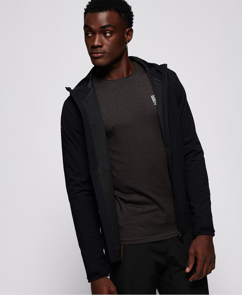 wholesale outlet classic outlet boutique Mens - Performance Waterproof Shell Jacket in Black | Superdry