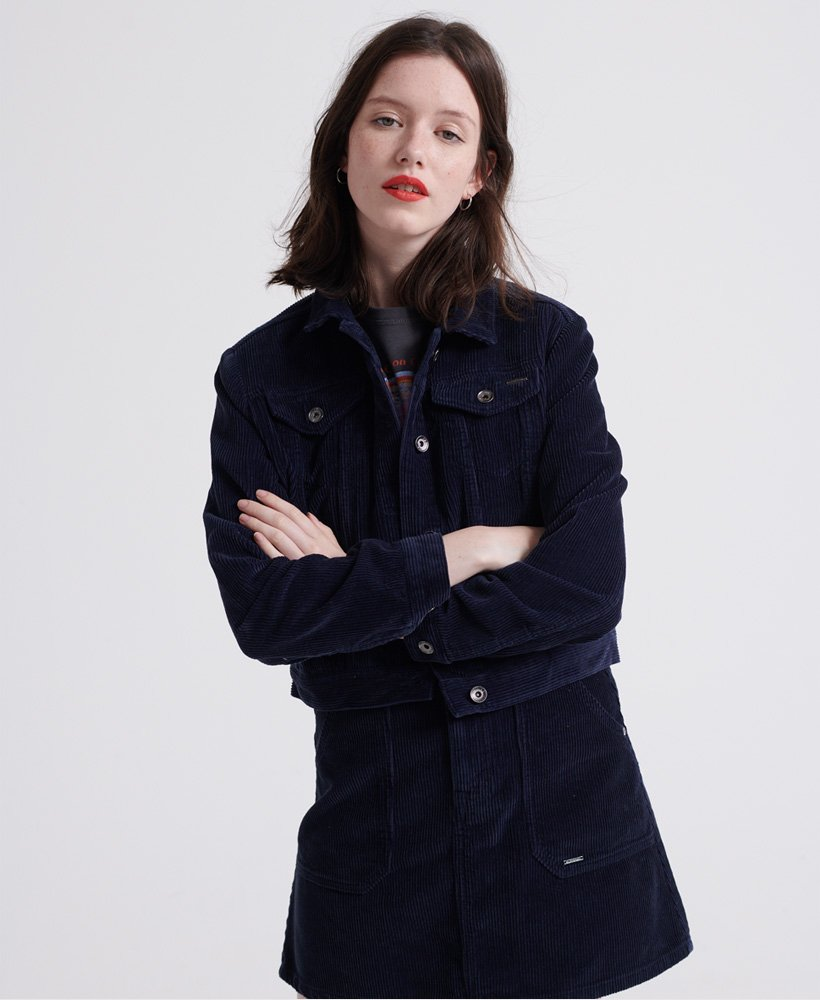 Superdry Cord Girlfriend Jacket thumbnail 1