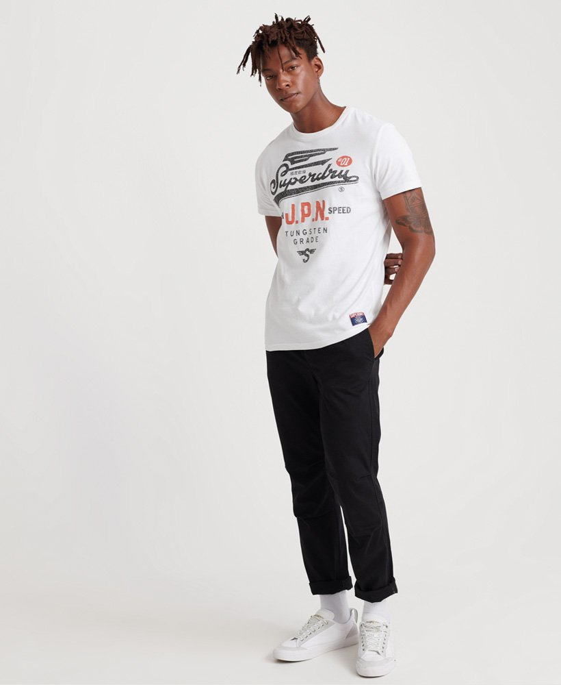 Superdry Mens High Speed Heritage Classic T-Shirt
