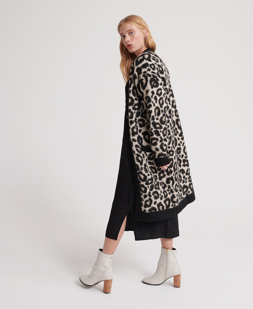 Superdry Lisa Leopard Cardigan