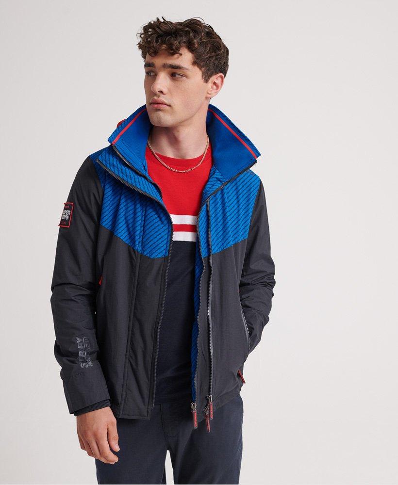 Superdry Hooded Tech Axis Pop Zip SD-Windcheater Jacket thumbnail 1