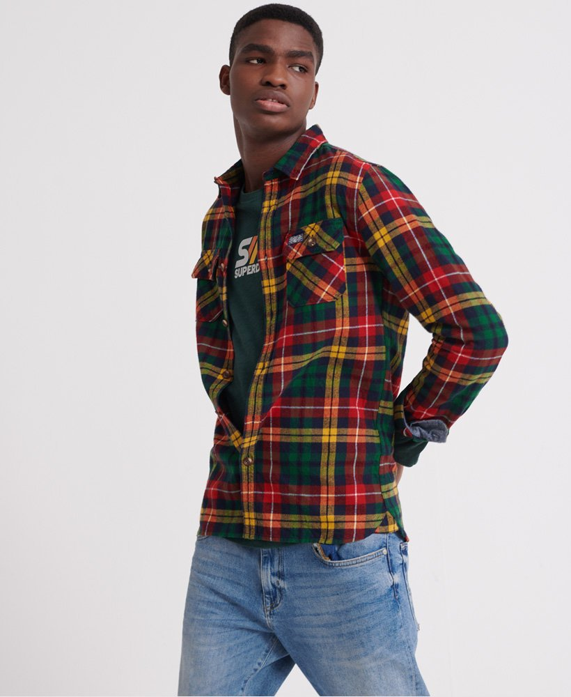 Superdry Classic Lumberjack skjorte Herre Skjorter