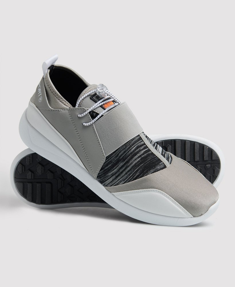 Elasticated Fastener Sports Trainers