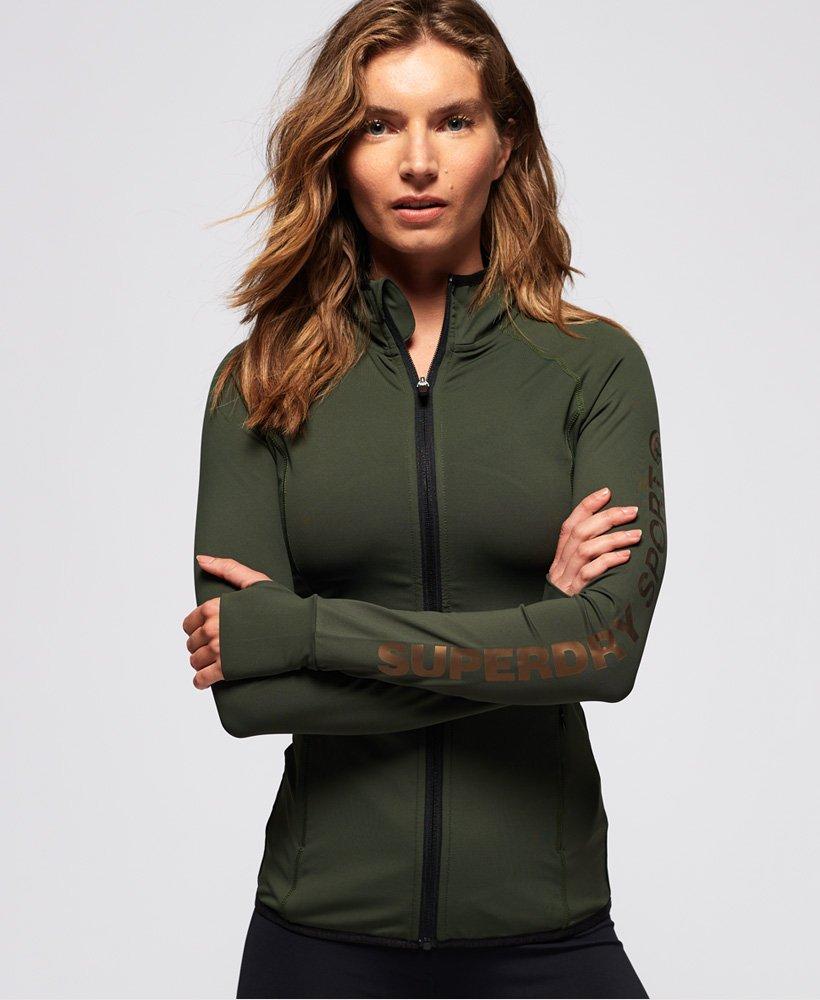 veste survetement femme superdry