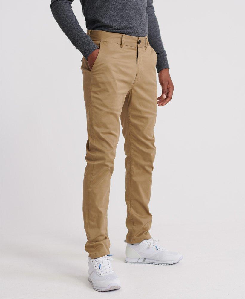 pantalon chino slim superdry homme