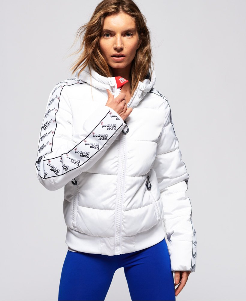 Superdry Streetwear Repeat Puffer Jacket thumbnail 1
