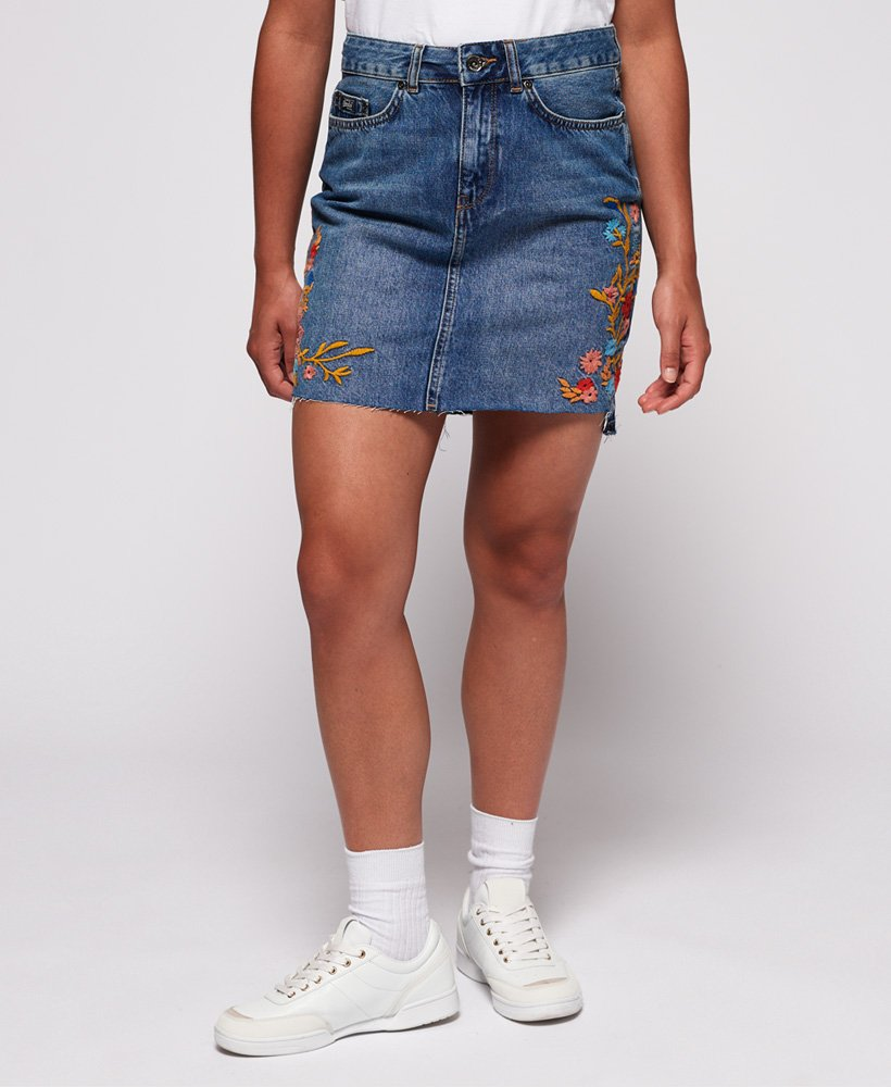 Superdry Denim minirok