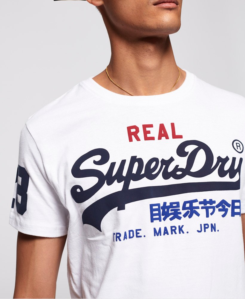 Superdry Vintage Logo Tri T-Shirt thumbnail 3