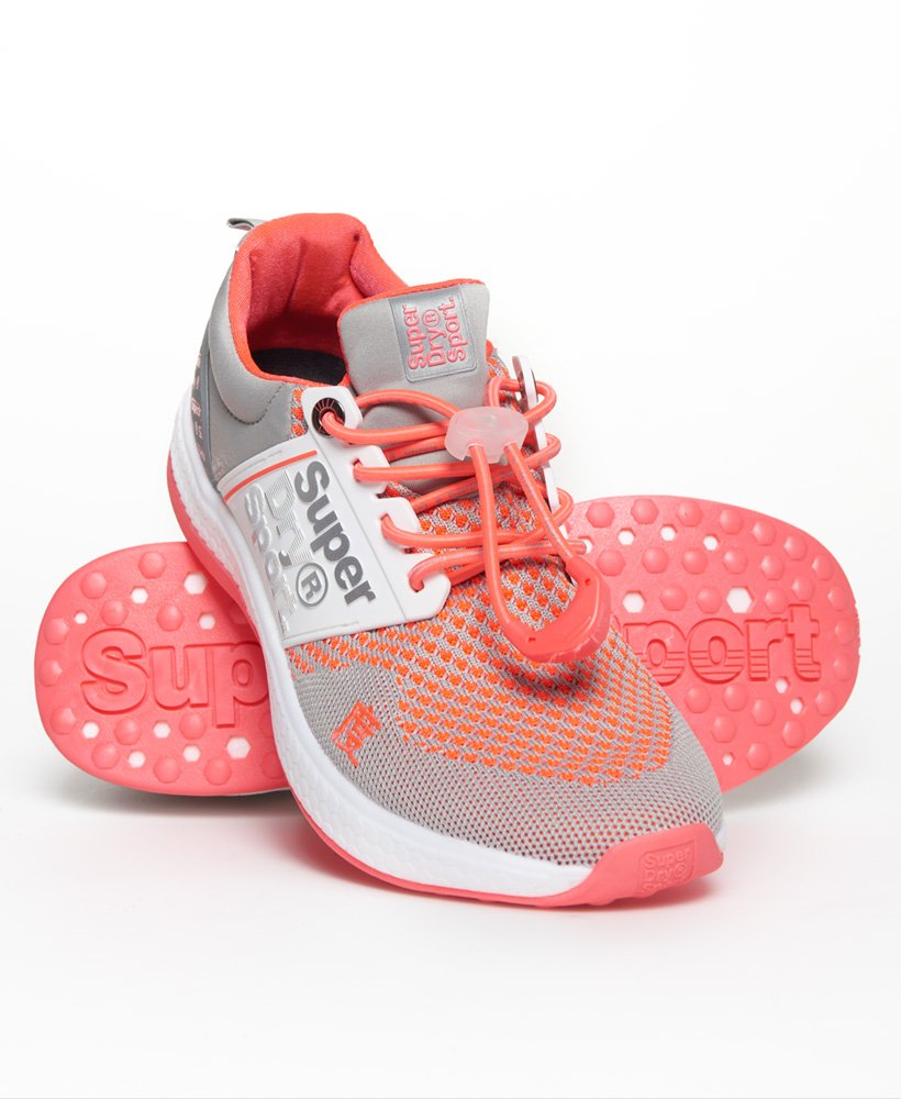 Super Freesprint Trainers in Grey/pink