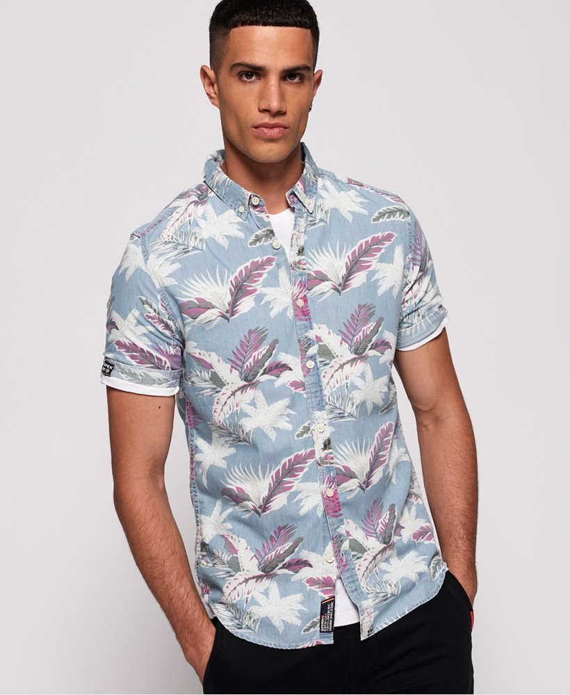 Superdry Miami Loom Short Sleeve Shirt thumbnail 1