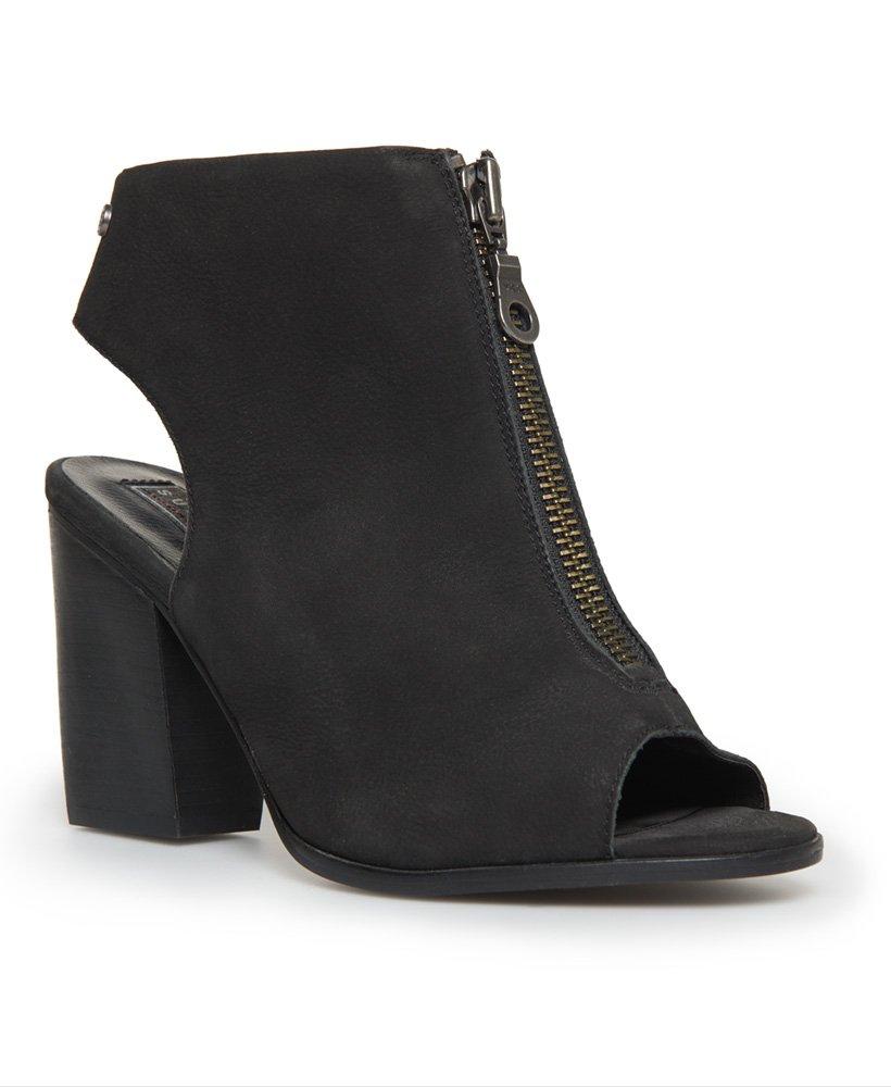 Superdry Alyx sko med høye hæler og glidelås Dame Sko