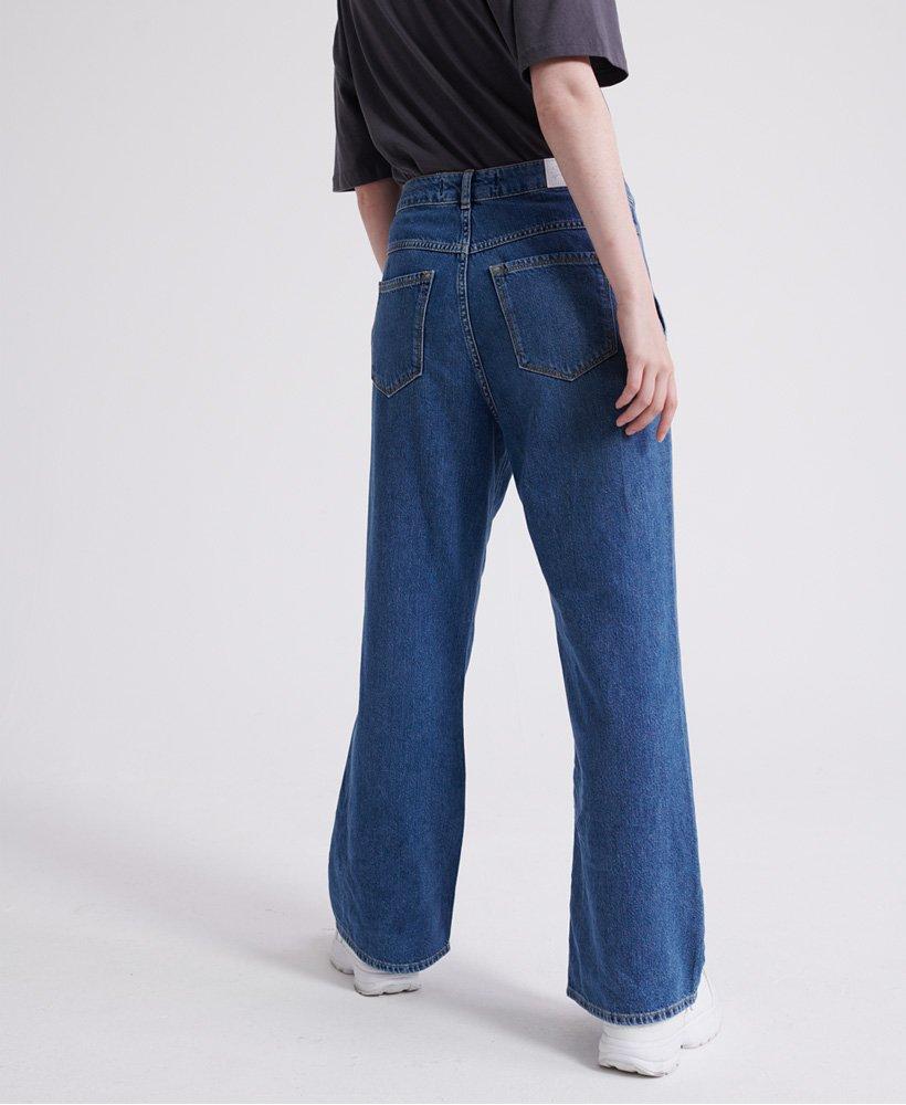 Superdry Frankie Jeans mit weitem Beinschnitt Damen Jeans